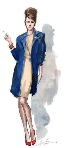inslee haynes... love the mad men-esque look!