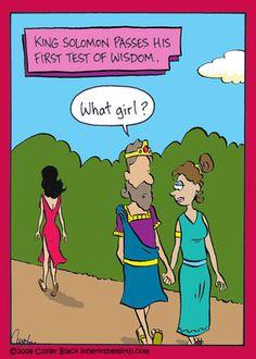 Test Of Wisdom - Inherit The Mirth@GoComics.com