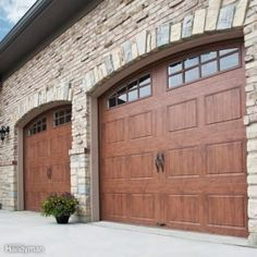 Building a garage might be an intimidating undertaking. It actually is tough to get motivated when you're garage resembles a dump. Inside my view, a three-car Garage Doors For Sale, Single Garage Door, Best Garage Doors, Wooden Garage Doors, Garage Door Springs, Garage Door Styles, Glass Garage Door, Garage Door Makeover, Garage Door Design