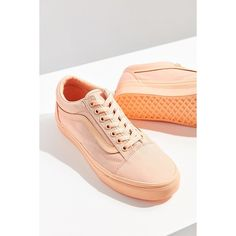 7622c84a28854e Vans Mono Canvas Old Skool Sneaker (€49) ❤ liked on Polyvore featuring shoes