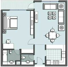 Small house 1 bedroom
