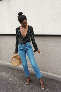 Flawless Summer Outfits Ideas For Slim Women That Looks Cool - Oscilling Spring Summer Fashion, Spring Outfits, Autumn Fashion, Summer Outfit, Spring Style, Summer Chic, Summer Grunge, Summer Fall, Look Fashion