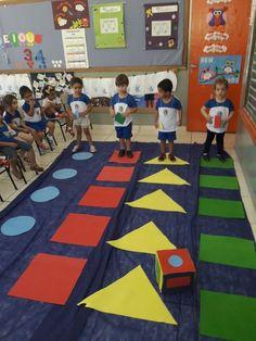 Formas geometricas Preschool Education, Preschool Games, Preschool Learning, Educational Activities, Toddler Activities, Teaching Kids, Preschool Crafts, Learning Games, Learning Toys For Toddlers