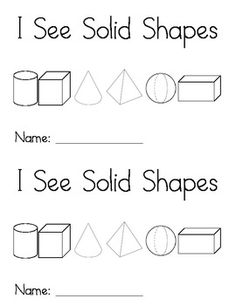 Here's a set of picture cards for sorting solid shapes