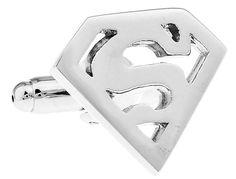 MĘSKIE SPINKI DO MANKIETÓW SUPERMAN EdiBazzar