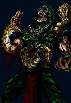 King Hiss by Mark Lapping - Masters of the Universe