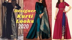 Top 20 Designer Kurti Looks / ऐसे बनवाये डिज़ाइनर Kurti / Party Wear Kur... Atal Bihari Vajpayee, Party Wear Indian Dresses, Kurti, Angeles, Chic, How To Wear, Tops, Design, Shabby Chic
