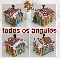 M de Maria Ateliê: MINHA GINGERBREAD HOUSE: CASINHA DE OUTUBRO