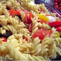Main Dish Salad: Italian Pasta Veggie Salad