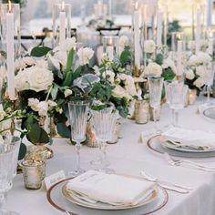 Beautiful table setting for Ellie + Zach's wedding! Preston Bailey, David Tutera, Beautiful Table Settings, Wedding Table Settings, Circle Table, Wedding Decorations, Table Decorations, New Orleans Wedding, Celebrity Weddings