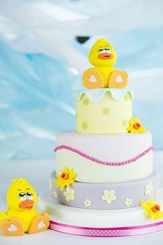 Cute Duck Cake - Paul Bradford Sugarcraft School