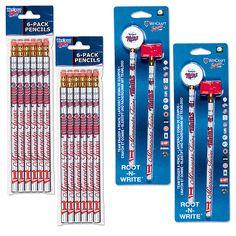 Minnesota Twins Pencil Eraser Packs - MLB.com Shop