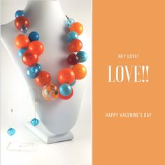 Looking for a special Valentine's present? This is one of a kind glass piece.