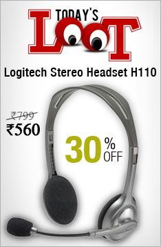 Today's Loot : Buy #Logitech Stereo #Headset H110 at 30 % Discount http://www.minglekart.com/electronics/logitech/headphones/logitech-stereo-headset-h110.html