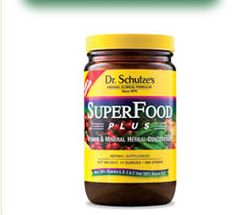 Dr. Richard Schulze's SuperFood Plus Powder is the only vitamin/mineral supplement I take, ad it's the only one I need ❤