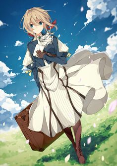 violet evergarden Part 2 - - Anime Image Top Anime Series, Manga Anime, Anime Art, Violet Evergreen, Violet Evergarden Anime, The Ancient Magus Bride, Anime Group, Kyoto Animation, Angst