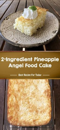 Delicious desserts don't get much lighter or simpler than this easy Weight Watchers Pineapple Angel Food Cake. Angel Cake, Angel Food Cake, Köstliche Desserts, Delicious Desserts, Food Cakes, Cupcake Cakes, Oreo, Pineapple Angel Food, Crushed Pineapple