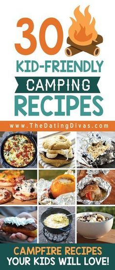 101 Camping with Kids Ideas camping recipes, recipes for camping #camping #recipe