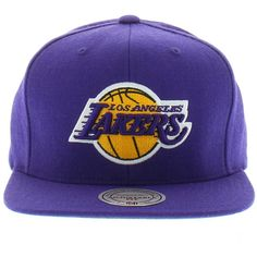 new concept 2c087 180c8 Los Angeles Lakers NBA The Solid Snap (Green Under) SNAPBACK Mitchell and  Ness New