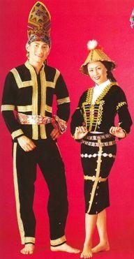 Sabah - Pakaian Tradisional Kaum-Kaum Di Malaysia
