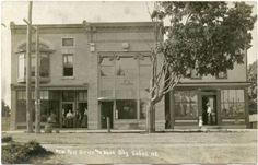 RPPC-NY-Sodus-New-Post-Office-Bank-Building-Wayne-County