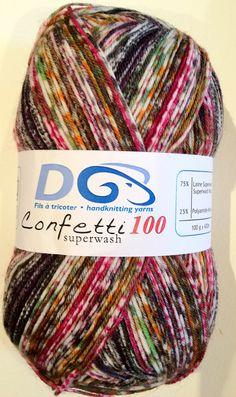 Confetti Sock Yarn