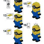 Build your own LEGO Minion - Instructions part 2