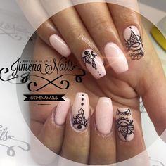 Glam Nails, Stiletto Nails, Nail Manicure, Nail Polish, Perfect Nails, Gorgeous Nails, Hair And Nails, My Nails, Really Cute Nails