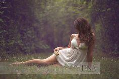 Beautiful outdoor boudoir by Tina Hursh Photography