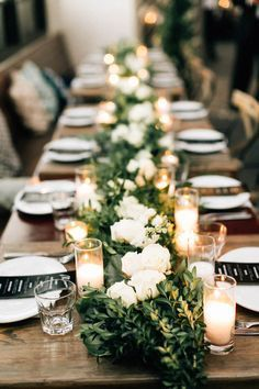 2017 wedding trends top 30 greenery wedding decoration ideas this wedding at madera kitchen is an inspiration for couples who are planning a city wedding because it combines urban sophistication with earthy charm junglespirit Image collections