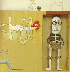 «Una casa para el abuelo», de Carlos Grassa Toro. Ilustración de Isidro Ferrer.