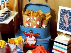Fish and chips 450x337 Sail Away Nautical Party