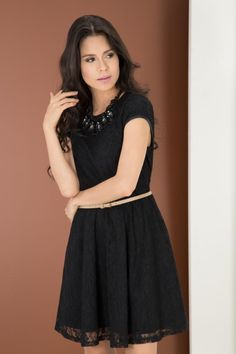 VESTIDO DE ENCAJE Black, Dresses, Fashion, Dress Lace, Vestidos, Moda, Black People, Fashion Styles, Dress