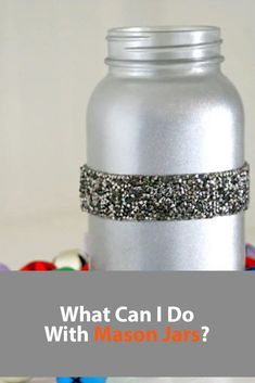 What Can I Do With Mason Jars? Mason Jar Crafts, Mason Jar Diy, Painted Mason Jars, Table Centerpieces, Craft Supplies, Homemade, Canning, Recipes, Food