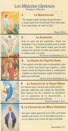 Praying The Rosary Catholic, Rosary Prayer, Holy Rosary, Catholic Religion, Catholic Quotes, God Prayer, Catholic Gifts, Roman Catholic, Rosary In Spanish