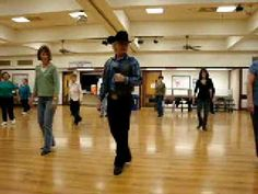 Crusin ( Line Dance ) Walkthrough - YouTube