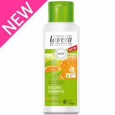 Lavera Organic & Natural Cosmetics and Skin Care - Hair Care - NEW Orange Volume Shampoo
