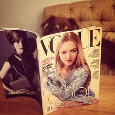 Amanda Seyfried @mingey He likes it! @vog...Instagram photo | Websta (Webstagram)
