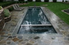 Lap Pool! oh i could so see a pool like this in my back yard.