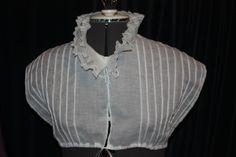 Snowshill Manor chemisette recreation (Blog post)