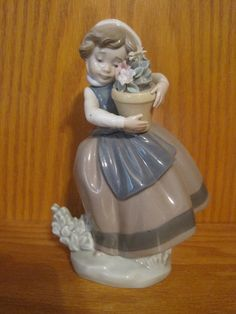 Spring is Here  Retired Lladro Figurine  5223 by MyRedFlamingo, $69.00
