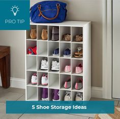 Whether you prefer to keep your shoes by the door or in your closet, there's a solution for you! Shoe Storage, Mudroom, Your Shoes, Home Organization, Closets, Shelves, Home Decor, Armoires, Shelving