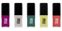 Are you ready for Spring colors? A new nail collection by JINsoon has the perfect shades to brighten up you day.