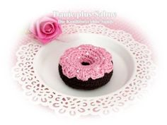 Donut, gehäkelt von Danie plus Sahne - Die Konditorei ohne Sünde auf DaWanda.com