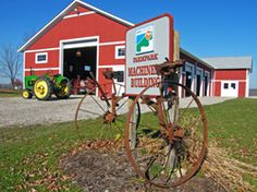 """Farmpark (Lake Metroparks) is a family-oriented science and cultural center devoted to agriculture, farming, and country life.  """"One of 10 great locations to dig up old dirt on farming"""" - USA Today"""