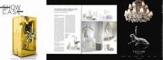 """VILLARI for the magazine """"Show case"""" in september 2012"""