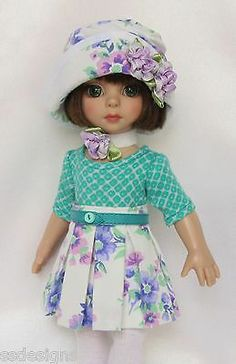"PATSY'S READY FOR SPRINGTIME! 10"" ANN ESTELLE, ETC. MADE BY SSDESIGNS"