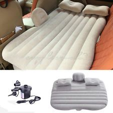 Car Mattress Inflatable Air Bed Back Rear Seat Sleep Rest Cushion Travel Holiday