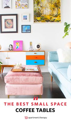 While a stylish coffee table can instantly upgrade the ambience of your entire apartment, a cramped living space is sure to limit your options. There are ways to score a sleek coffee table without sacrificing square footage. We searched the market high and low and found 10 of the savviest coffee tables for small spaces in 2017 for every budget.