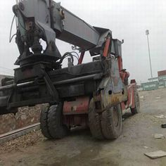 Difference between Used Excavator CONTMASTER with shovel excavator
